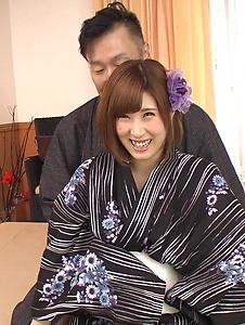 Honoka Orihara - Honoka Orihara fucked hard after a superb Japanese blowjob - Screenshot 3