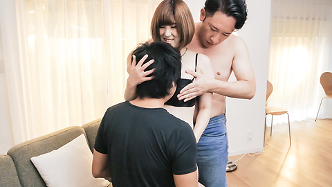 Honoka Orihara - Japanese gangbang creampie with Honoka Orihara - Picture 2
