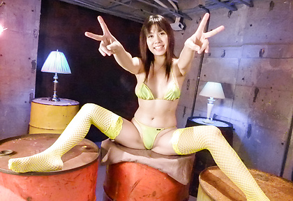 Hot Japanese stocking porn with sleazy Hina Tokisaka