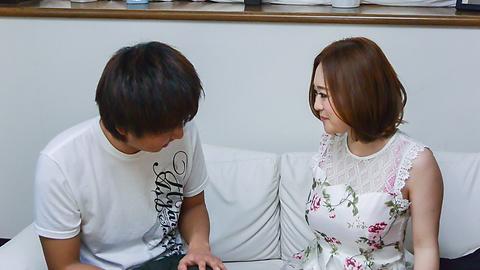 Doremi Miyamoto - Sensual Asian blowjob by insolent Doremi Miyamoto - Picture 12