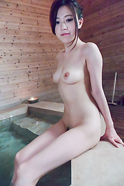 Miu Kimura - Miu Kimura provides Japanese blowjobs in the sauna  - Picture 3