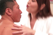 Strong av sex in bed with young Yua Ariga Photo 2