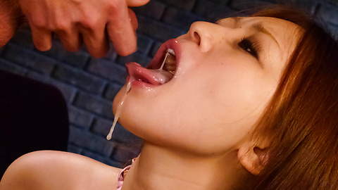 Hot body Ruri Haruka getting down and sucking cock