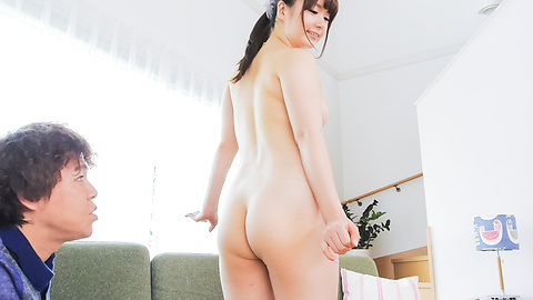 Yui Nishikawa - Asian blow jobs lead to insane sex on the couch  - Picture 7