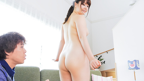 Yui Nishikawa - Asian blow jobs lead to insane sex on the couch  - Picture 8