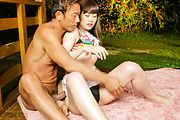 Naughty Asian gangbang special by top Ayaka Photo 6