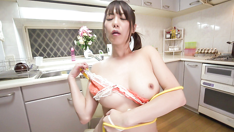 Nanami Hirose - Busty doll amazes with a perfect Japan blowjob  - Picture 4