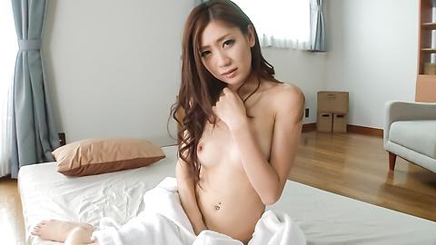 Kaori Maeda - สมัครเล่นแห่งเอเชีย Babe เล่นกับหีในไหมเดี่ยวเซ็กซี่ -  2 รูปภาพ