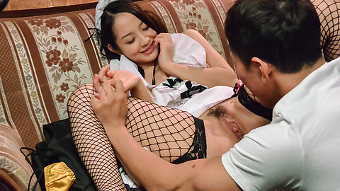 Anna Mihashi - Anna Mihashi gives Asian blowjob on a big dick  - Picture 4