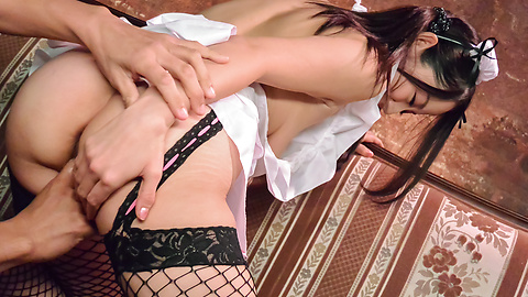 Anna Mihashi - Anna Mihashi gives Asian blowjob on a big dick  - Picture 9