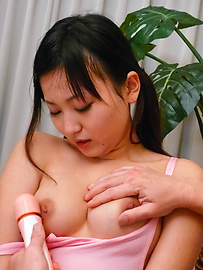 Ryo Asaka - Ryo Asaka gets legs spread for intense masturbation with vibrator - Picture 5