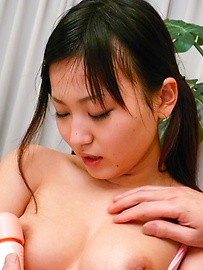 Ryo Asaka - Ryo Asaka gets legs spread for intense masturbation with vibrator - Picture 7