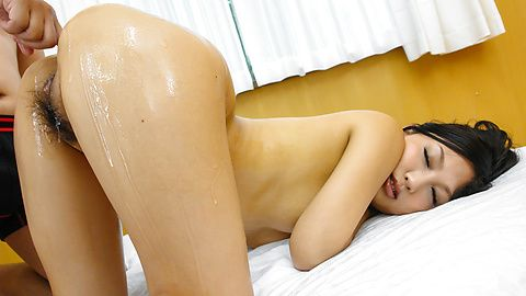 Maki Takei - Superb Japan blowjob during Maki Takei's hardcore show - Picture 10