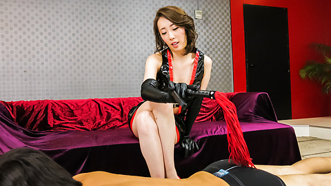 Aya Kisaki - Hot Aya Kisaki amazes in creampie Asian porn show  - Picture 1