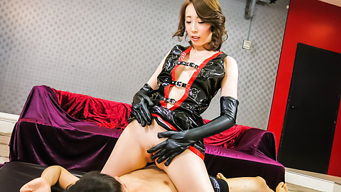 Aya Kisaki - Hot Aya Kisaki amazes in creampie Asian porn show  - Picture 2