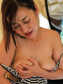 Maria Ono - Maria Ono uses big Asian dildo in her pussy  - Picture 11