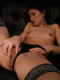 Kaede - Toy play time with Kaede getting pussy and asshole drilled - Picture 6