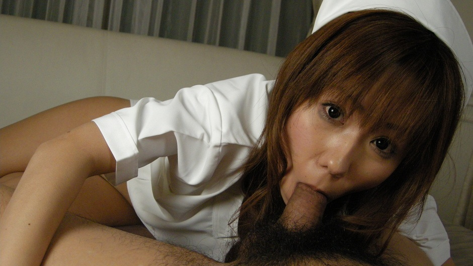 Hot nurse gets nasty and rides cock Yurika Momose