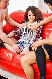 波多野結衣 - 3Pグループファック 波多野結衣 - Picture 1