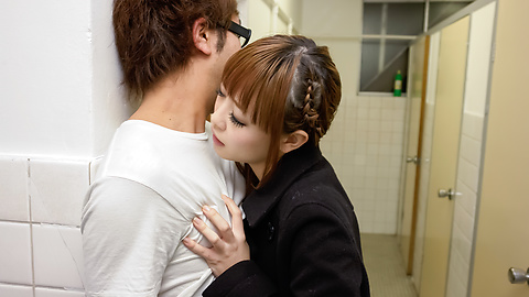Rin Momoka - Asian blow job in public with Rin Momoka  - Picture 6
