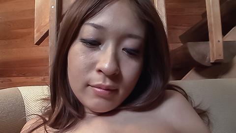 Marin Koyanagi - Asian creampie to end babe's wild threeosme fuck - Picture 11