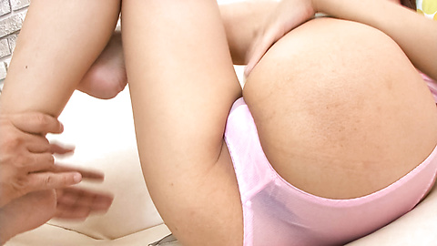 Yuuno Hoshi - Wet dripping and hairy snatch fondled and licked - Picture 4