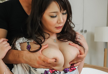 Big tits Hinata Komine enjoying staggering porn adventure