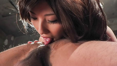 Kanako Iioka - Amazing domination anal with tight Kanako Iioka - Picture 1