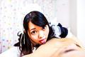 Sexy maidHikaru Morikawa enjoys Japanese cum
