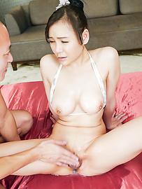 Miu Watanabe - Busty Miu Watanabe provides top Japanese blowjob - Picture 7