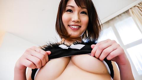 Mikuni Maisaki - Mikuni Maisaki goes nasty in Asian creampie porn show - Picture 4