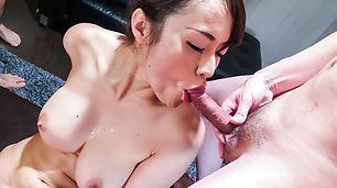 Strong gangbang along big tits JapaneseKaede Niiyama