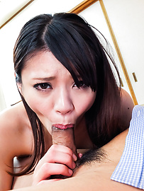 Akubi Yumemi - Japan blowjob by Akubi Yumemi to her teacher  - Picture 7