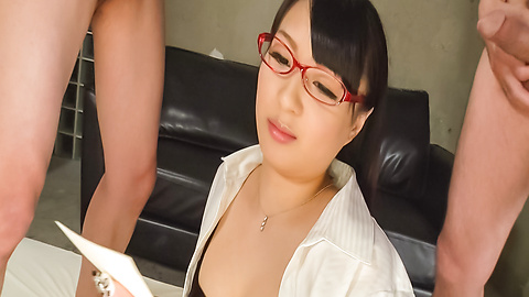 Kokona Sakurai - Japanese bukkake video withKokona Sakurai - Picture 10