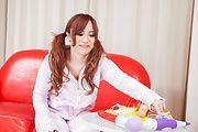 Rino Sakuragi - 绿诺科技樱木试下来她的阴户的亚洲假阳具 - 图片 3