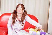 Rino Sakuragi - 绿诺科技樱木试下来她的阴户的亚洲假阳具 - 图片 4