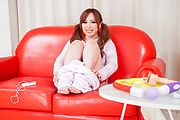 Big tits Japanese doll plays nasty in solo scenes  Photo 5