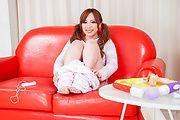Rino Sakuragi - 绿诺科技樱木试下来她的阴户的亚洲假阳具 - 图片 5