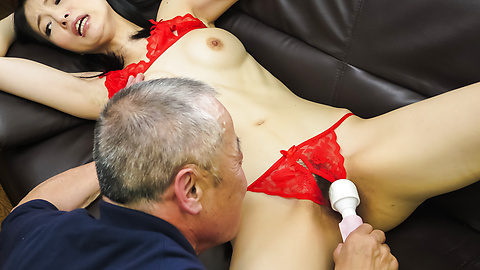 Miria Hazuki - Japanese blow jobs to complete a nice porn play  - Picture 12