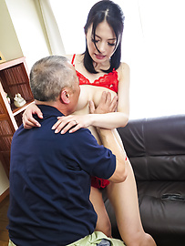 Miria Hazuki - Japanese blow jobs to complete a nice porn play  - Picture 7