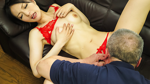 Miria Hazuki - Japanese blow jobs to complete a nice porn play  - Picture 9