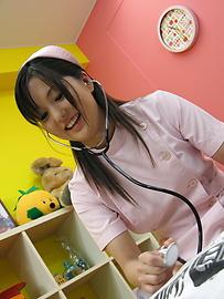 Rio Nakamura - Lovely nurse Rio Nakumara makes it all better for horny cock - Picture 10