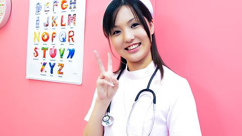 Rio Nakamura - Lovely nurse Rio Nakumara makes it all better for horny cock - Picture 6