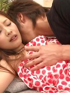 Suzuka Ishikawa - Suzuka Ishikawa blowing and riding a dick with squirting - Screenshot 12