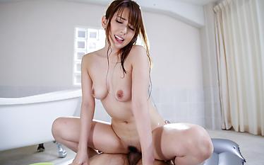 Harsh Asian creampie with sensualYui Hatano