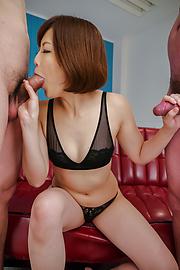 Tomoka Sakurai - Superb Japan blow job by alluringTomoka Sakurai - Picture 7