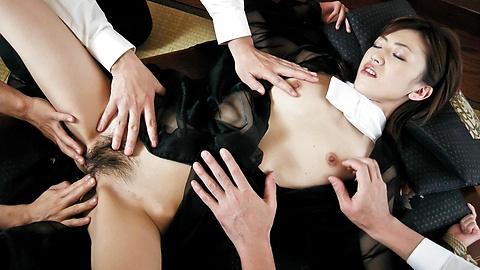 Kanon Hanai - Hanai Kanon wildest ass insertion pleasures - Picture 3