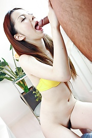 Rika Koizumi - Rika Koizumi Swallows Cum After Riding His Dick - Picture 8