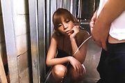 Sumire Matsu - Sumire Matsu in Sexy Lingerie Sucks off a Hard Cock - Picture 3