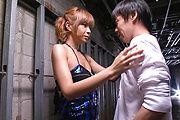 Sumire Matsu - Sumire Matsu in Sexy Lingerie Sucks off a Hard Cock - Picture 8